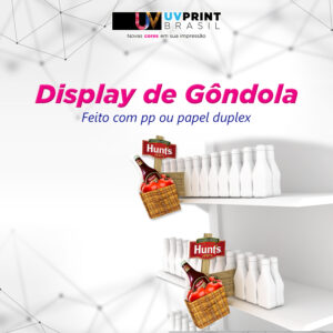 DISPLAY DE GONDOLA