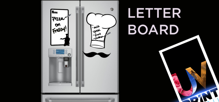 Conheça o nosso Quadro de PS Letter Board